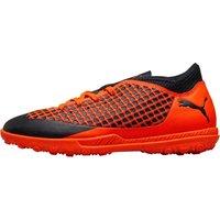 Puma Junior Future 2.4 TT Astro Football Boots Puma Black/Shocking Orange
