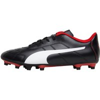 Puma Mens Classico C FG Football Boots Puma Black/Puma White/High Risk Red