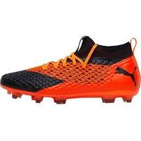 Puma Mens Future 2.2 Netfit FG/AG Football Boots Black/Orange