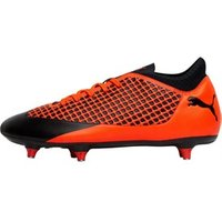 Puma Mens Future 2.4 SG Football Boots Puma Black/Shocking Orange