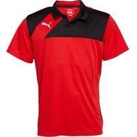 Puma Mens Esquadra Leisure Polo Red/Black
