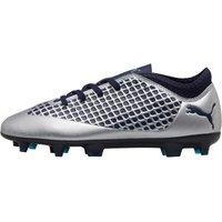 Puma Junior FUTURE 2.4 FG/AG Football Boots Puma Silver/Peacoat