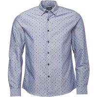 Peter Werth Mens Miller Pattern Shirt Blue