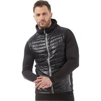 Dare2b Mens Transfuse Hybrid Thermal Padded Hooded Jacket Black