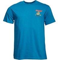 Weird Fish Mens Chub T-Shirt Blue Jay