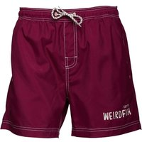 Weird Fish Mens Volac Board Shorts Boysenberry Picture