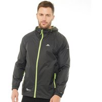 Trespass Mens Qikpack Waterproof Jacket Black