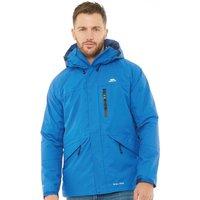 Trespass Mens Corvo Hooded Waterproof Shell Jacket Blue