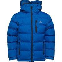Trespass Boys Tuff Padded Hooded Jacket Blue