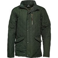 Trespass Mens Argyle Quilted Jacket Olive