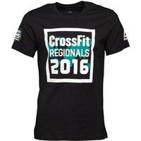 Reebok Mens CrossFit Regionals 2016 T-Shirt Black