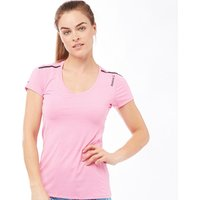 Reebok Womens One Series ACTIVChill Top Icon Pink