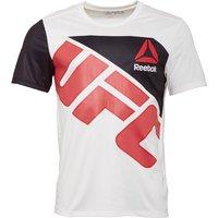 Reebok Mens UFC Octagon Jersey Chalk/Red