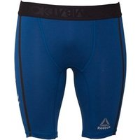 Reebok Mens Combat Training Vale Tudo Compression Shorts Noble Blue