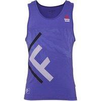 Reebok Mens CrossFit Speedwick Burnout Tank Ultimate Purple
