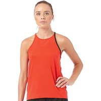 Reebok Womens Cardio Slim Fit Tank Rio Red