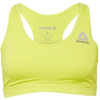 Reebok Womens Workout Ready Speedwick Sports Bra Top Hero Yellow