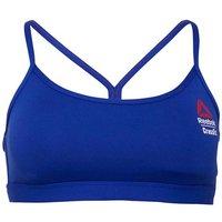 Reebok Womens CrossFit Games Speedwick Rack Sports Bra Top Blue Move