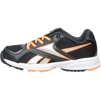 Reebok Junior Almotio Neutral Running Shoes Gravel/Solar Orange/Black/White/Silver Metallic