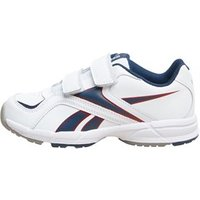 Reebok Junior Almotio Leather 2 V Neutral Running Shoes White/Navy/Red