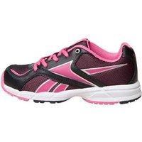 Reebok Junior Almotio Neutral Running Shoes Black/Pink Fusion/Silver