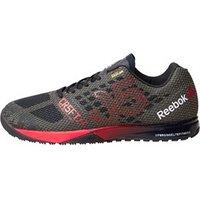 Reebok Mens CrossFit Nano 5.0 Training Shoes Black/Motor Red/Shark/White