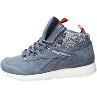 Reebok Mens GL 6000 Mid Crab Pack Trainers Royal Slate/Chalk/Riot Red