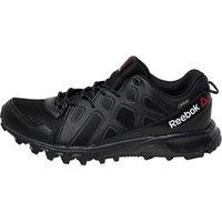 Reebok Womens Les Mills Sawcut 4.0 GORE-TEX Walking Shoes Black/Rose Rage/Flat Grey