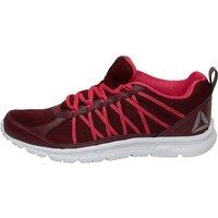 Reebok Womens Speedlux 2.0 Neutral Running Shoes Rustic Wine/Pink Craze/White