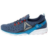 Reebok Mens ZPump Fusion 2.5 Neutral Running Shoes Collegiate Navy/Instinct Blue/Pewter/Riot Red/White