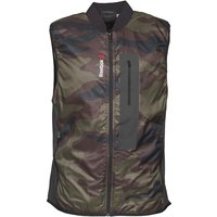 Reebok Mens One Series Primaloft Camo Vest Gilet Canopy Green
