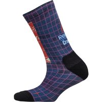 Reebok Mens CrossFit Printed Crew Training Socks Vital Blue