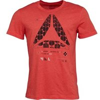 Reebok Mens Speedwick Graphic T-Shirt Primal Red