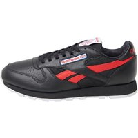 Reebok Classics Mens Leather SO Trainers Black/White/Light Grey Heather/Solid Grey