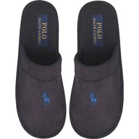Ralph Lauren Mens Sunday Scuff Slippers Black