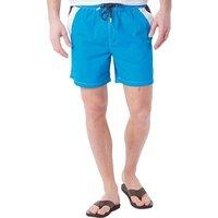 Fred & Boston Mens Taslan Swim Shorts Turquoise