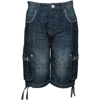 Ripstop Junior Boys Jamstead Cargo Shorts Stone Wash