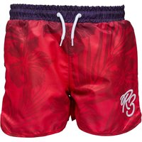 Ripstop Boys Lazenby Sublimation Gradient Print Swim Shorts Navy/Pink