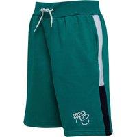 Ripstop Boys Hemlees Shorts Green/White