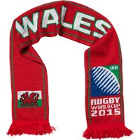 Rugby World Cup Wales Scarf Flag Red