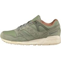 Saucony Mens Grid SD Public Garden Trainers Olive Green