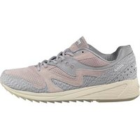 Saucony Mens Grid 8000 Dirty Snow 2 Trainers Grey