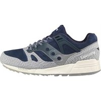 Saucony Mens Grid SD Dirty Snow 2 Trainers Blue/Grey
