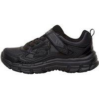 SKECHERS Boys Nitrate Memory Foam Shoes Black