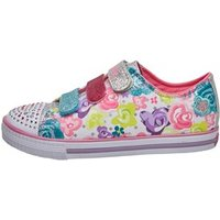 SKECHERS Girls Twinkle Toes Chit Chat Pumps White/Multi