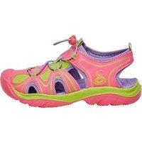 SKECHERS Girls Cape Cod Water Sandals Pink/Green