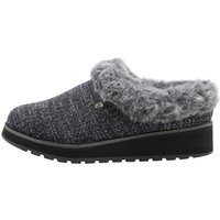 SKECHERS Womens Bobs Keepsakes High Slippers Charcoal