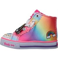 SKECHERS Infant Girls Twinkle Toes Shuffles Patch Party Multi