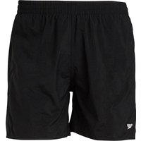 Speedo Boys Solid Leisure 15 Inch Water Shorts Black