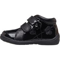 Start-Rite Infant Girls Super Soft Lily Patent Boots F Fit Black Leather/Patent